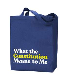 What The Constitution Means To Me Tote Bag