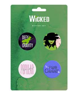 Wicked the Broadway Musical - Button Card